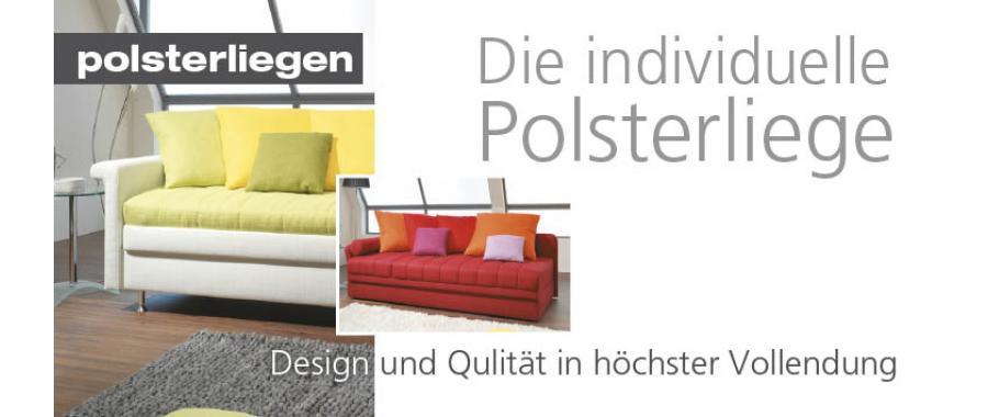 polsterliegen aus eigenen werkst tten in ihrem segm ller einrichtungshaus. Black Bedroom Furniture Sets. Home Design Ideas