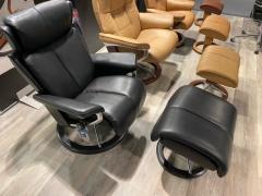 Sessel mit Hocker Magic - S -