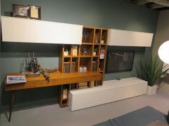 Boegner Wohnwand Bibliotheka