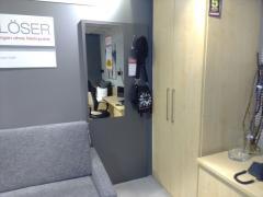 Garderobenpaneel mit Spiegel - Multiflex