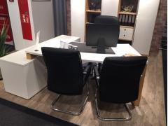 Schreibtisch incl. Sideboardanbau RMW