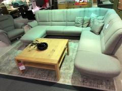 Polstergarnitur + Sessel aus eigenen Werkstätten Ohio