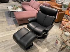 Sessel mit Hocker Magic - L-