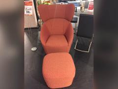 Rolf Benz Freistil Sessel und Hocker 178