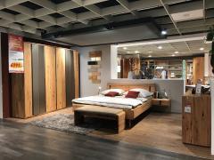 Schlafzimmer Solido Astbuche massiv geölt