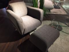 Livingroom Loungsessel mit Hocker
